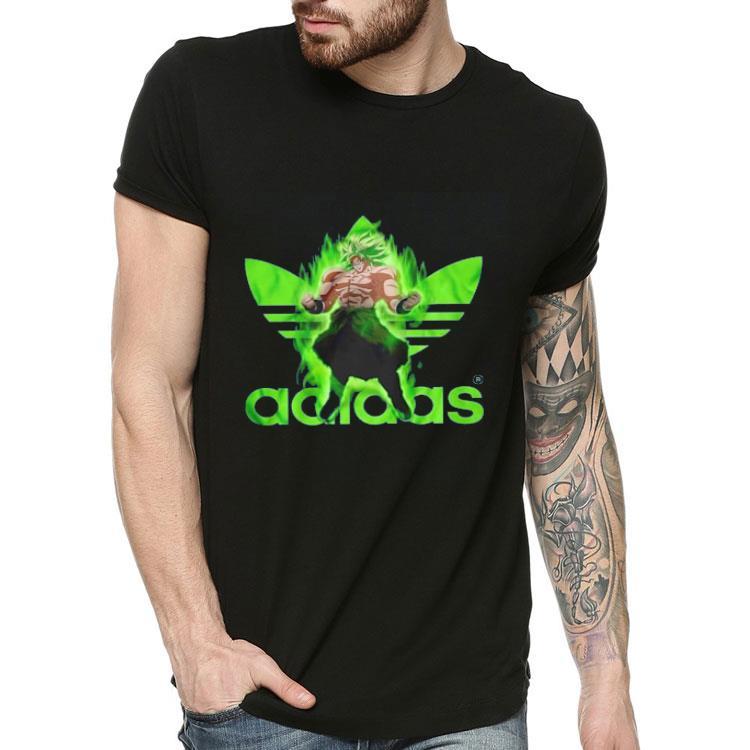 dragon ball z adidas t shirts