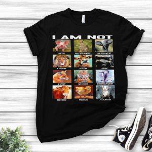 I am not Bacon an experiment an ornament a trophy a steak a coat shirt