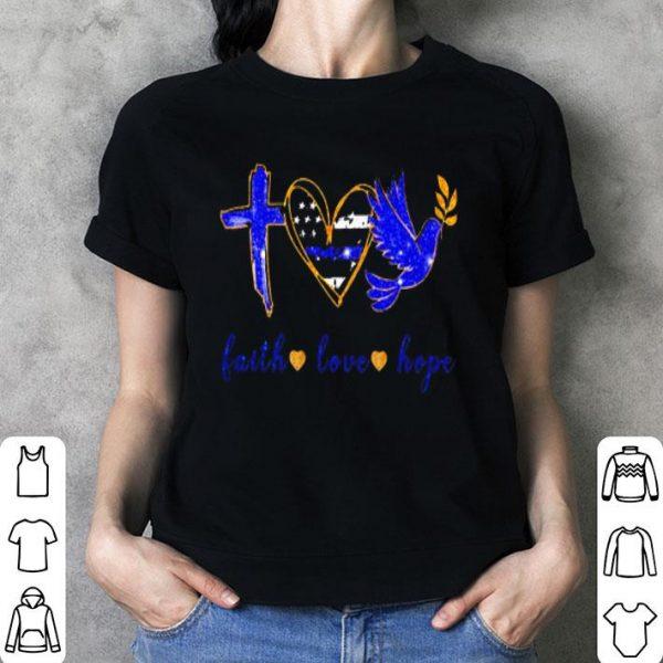 Jesus Faith Love Hope shirt