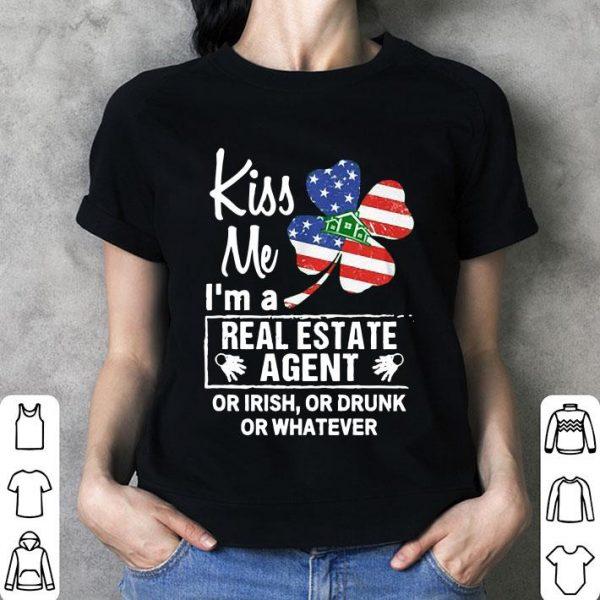 Kiss Me I'm A Real Estate Agent shirt