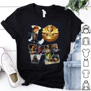 Love Outlander Tv Series Signature shirt