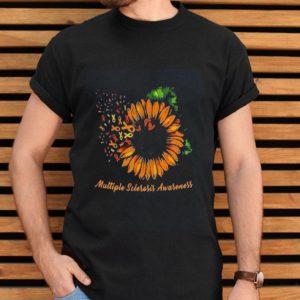 Sunflower Dandelion Multiple Sclerosis Awarenessshirt