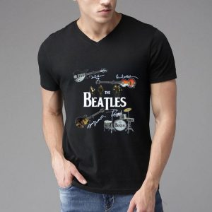 The Beatles Instrument Signature shirt