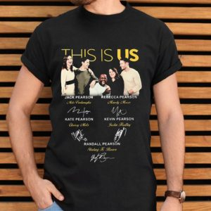 This is Us all signatures Jack Pearson Rebecca Pearson shirt