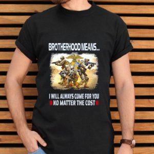 United States Marine Corps Brotherhood Means shirt