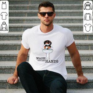 Awesome Dachshund Puppy Wash Your Damn Hands Coronavirus shirt