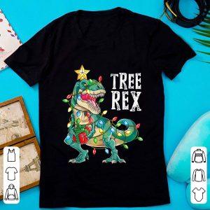 Great Christmas Dinosaur Tree Rex shirt