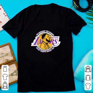 Awesome In Lebron We Trust Los Angeles Lakers You Can't Stop Us shirt