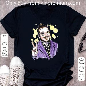Awesome Post Malone Smiling Art Signatures shirt