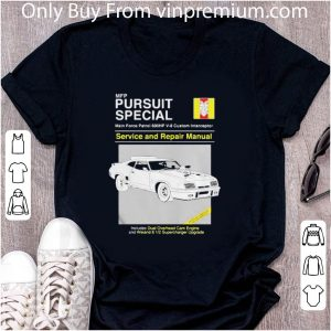 Awesome Mfp Pursuit Special Service And Repair Manual Dual Overhead Cam Engine shirt
