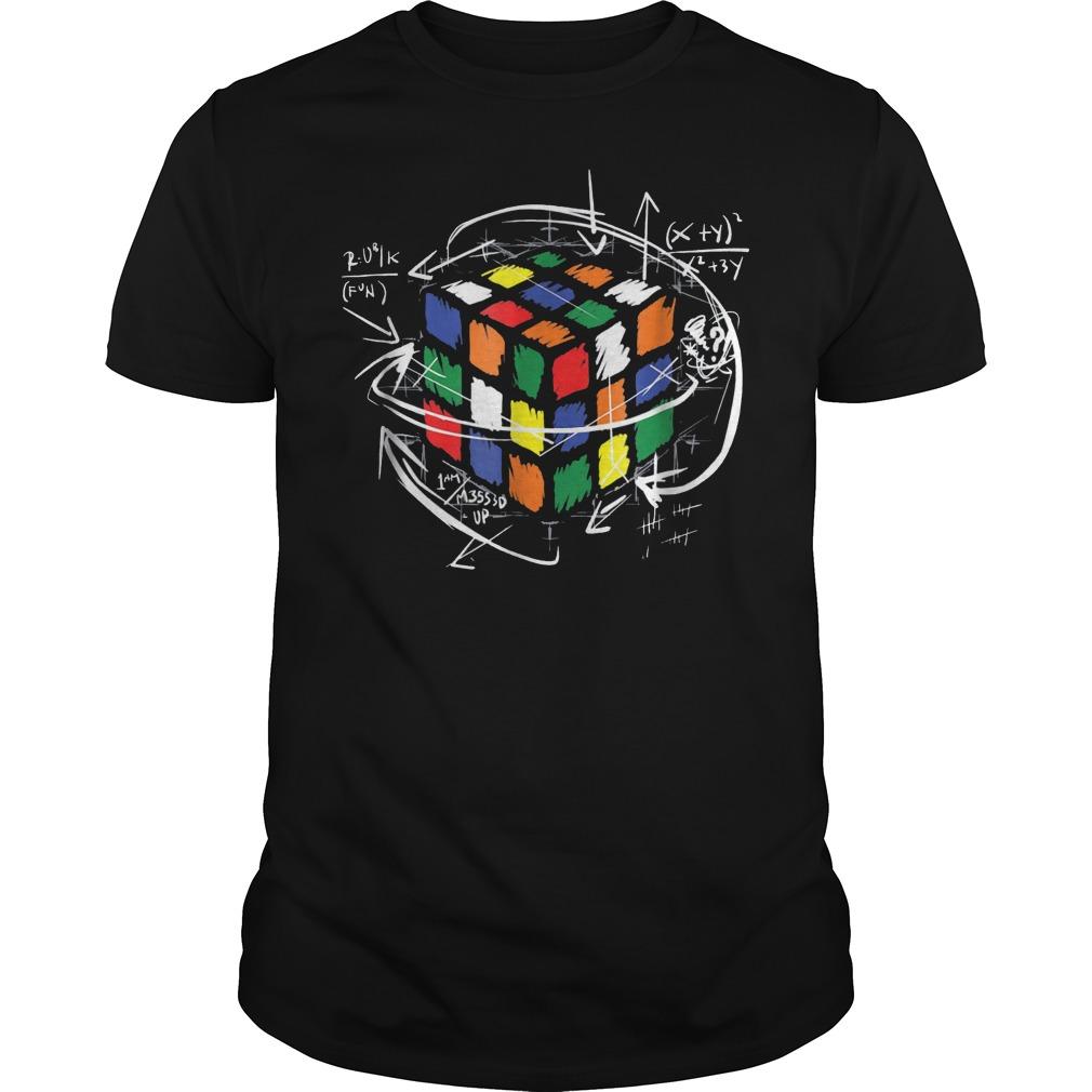 Rubik Cube Math T-Shirt