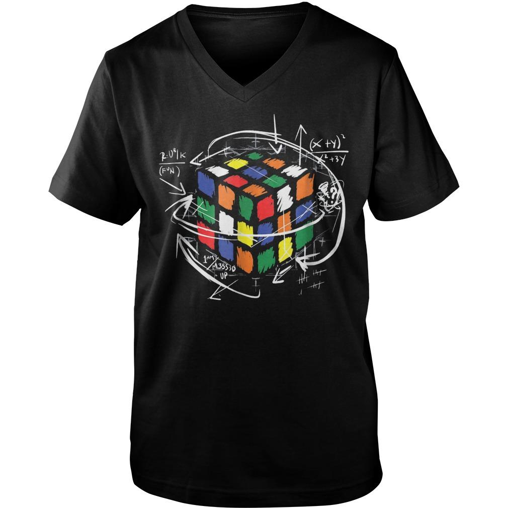 Rubik Cube Math Guys V-Neck