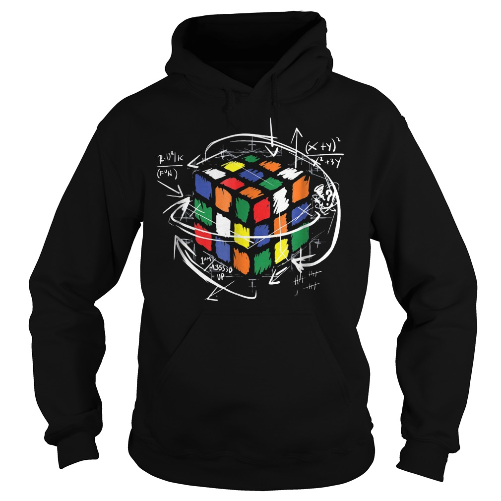 Rubik Cube Math Hoodie