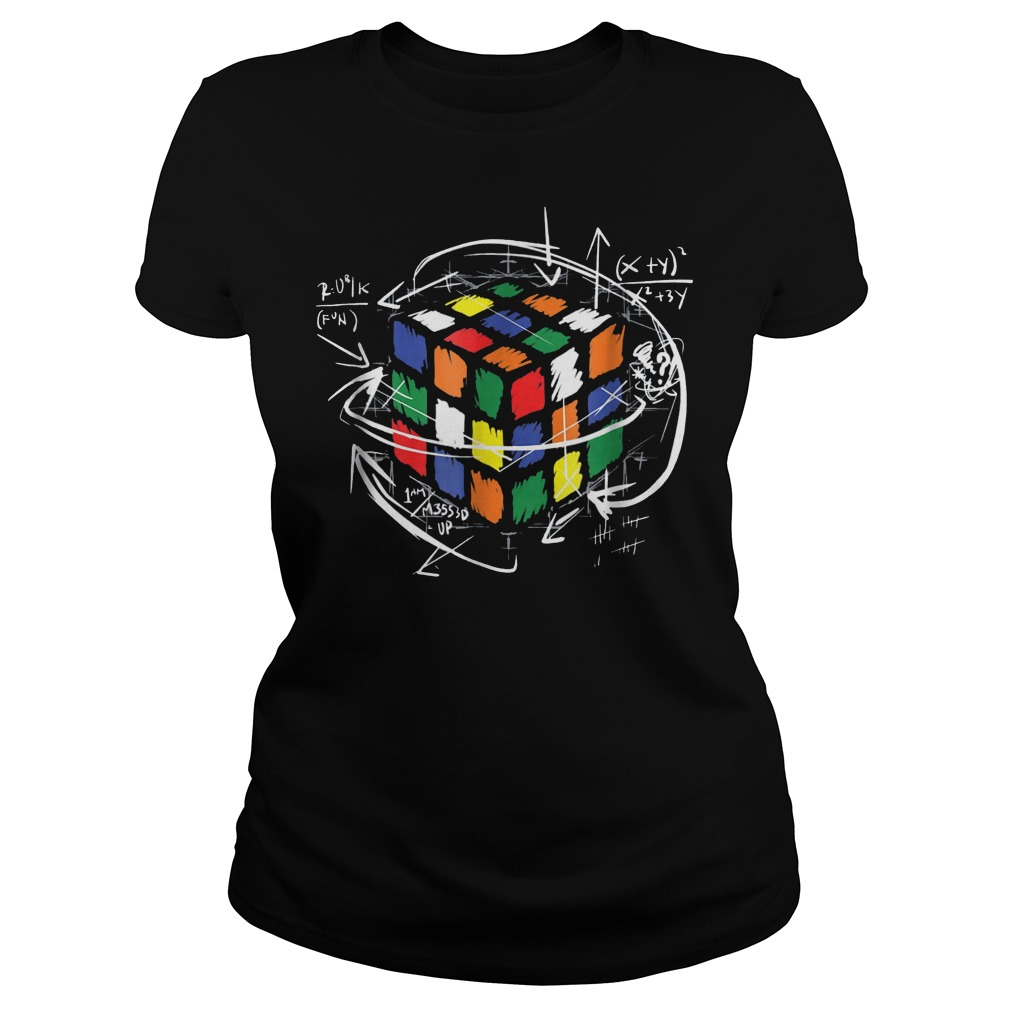 Rubik Cube Math Ladies Tee