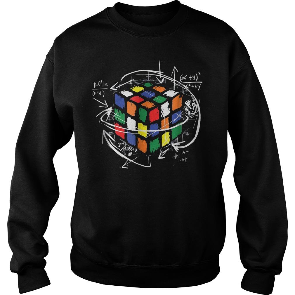 Rubik Cube Math Sweat Shirt