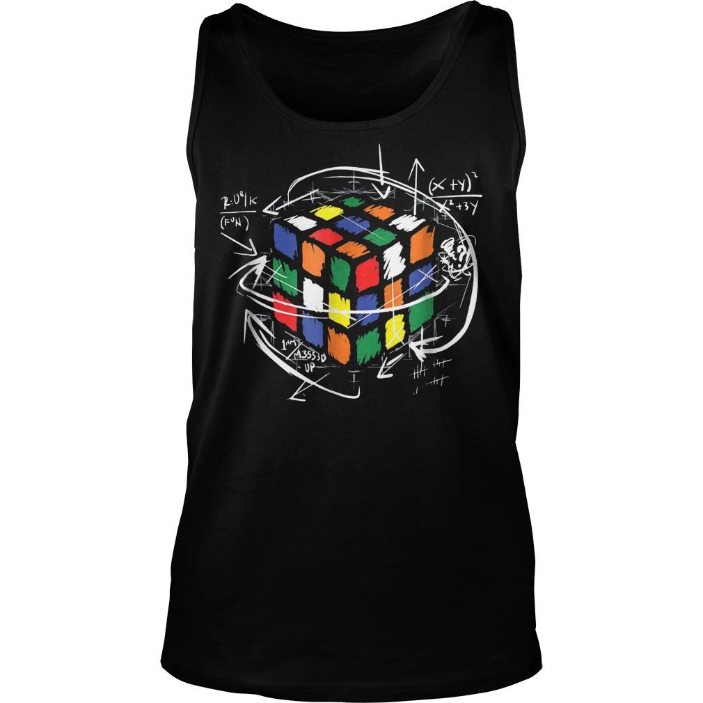 Rubik Cube Math Unisex Tank Top