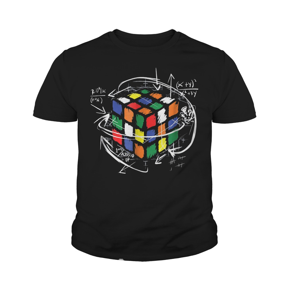 Rubik Cube Math Youth Tee