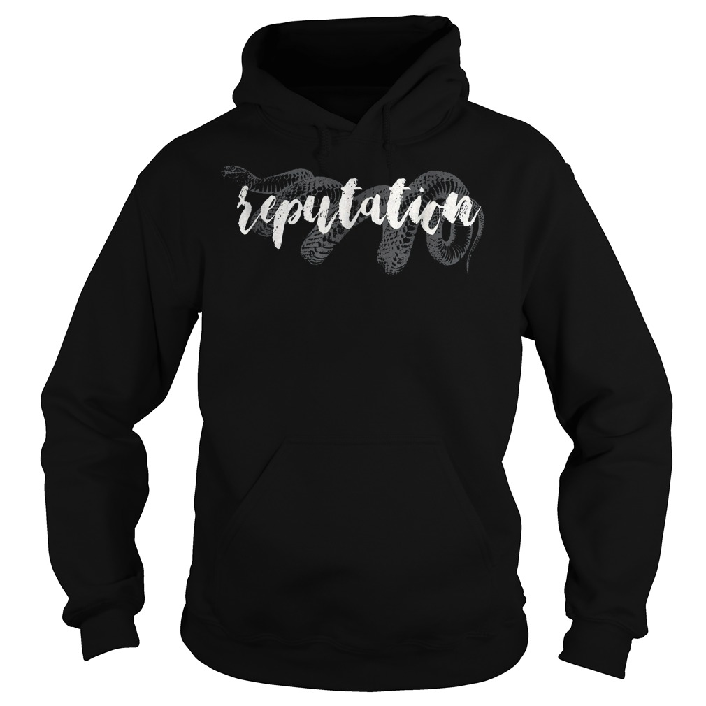 Snake And Reputation T-Shirt Hoodie