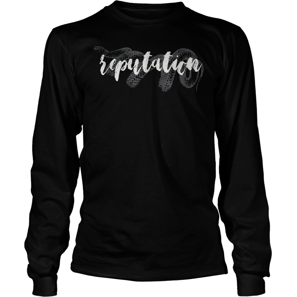 Snake And Reputation T-Shirt Unisex Longsleeve Tee