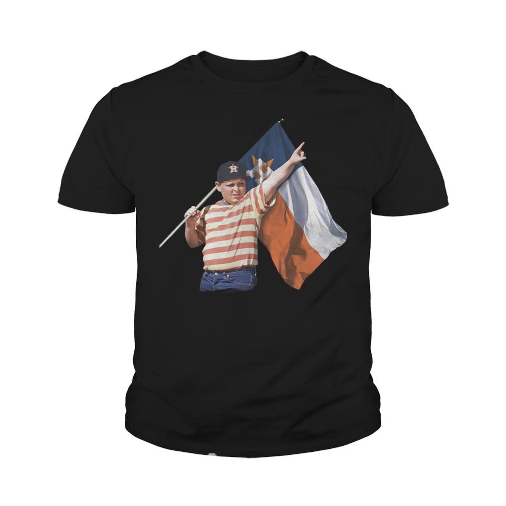 The Sandlot And Houston Astros Flag T-Shirt Youth Tee