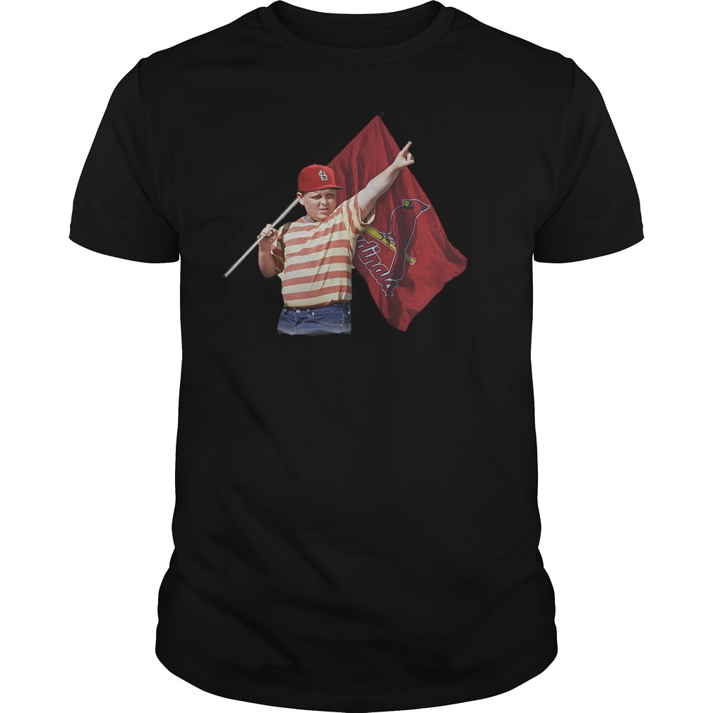 The Sandlot And St Louis Cardinals Flag T-Shirt Classic Guys / Unisex Tee