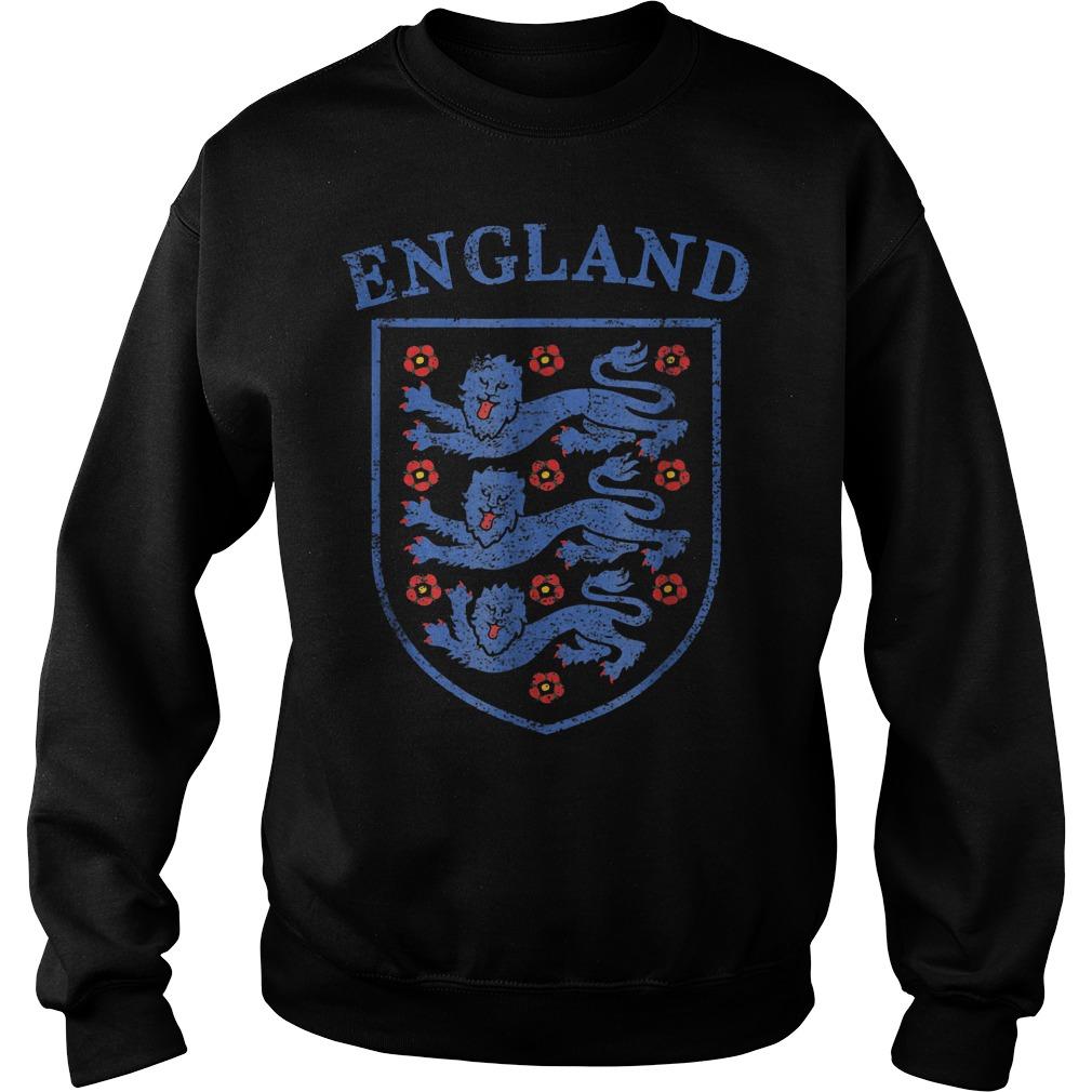 Vintage England Lions World Soccer Team Russia 2018 T-Shirt Sweat Shirt