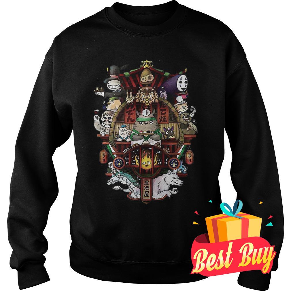 Best Price Ghibli Totoro shirt Sweatshirt Unisex