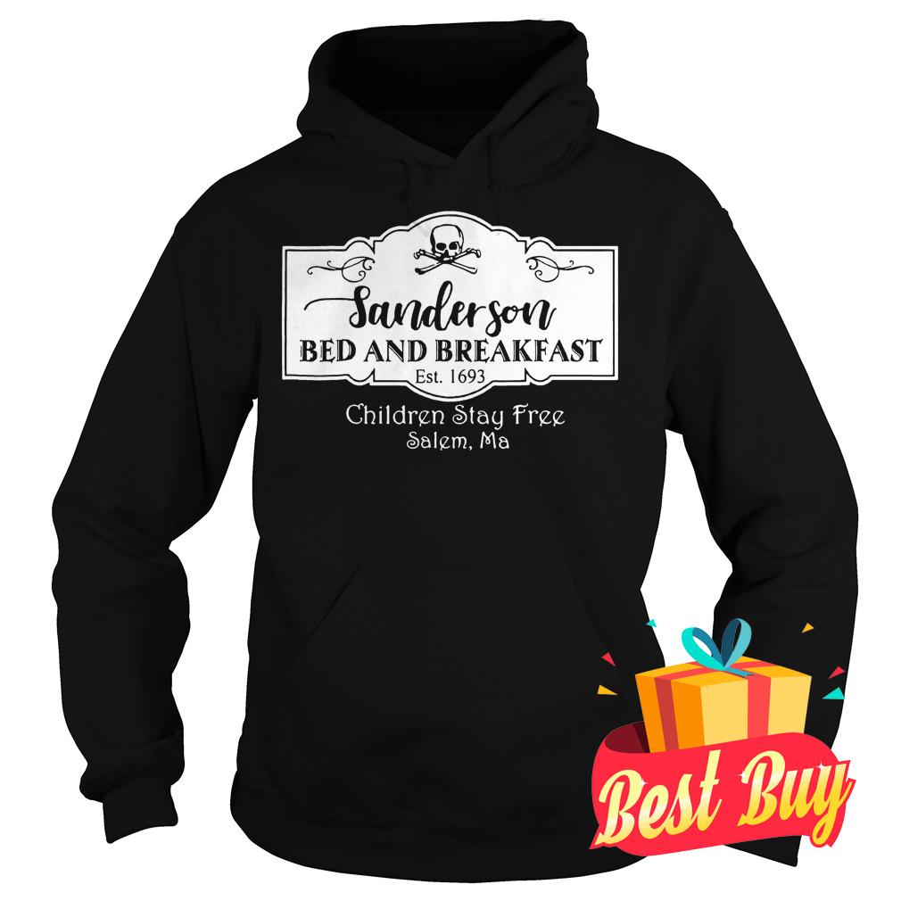 Best Price Halloween Sanderson Bed And Breakfast shirt Hoodie
