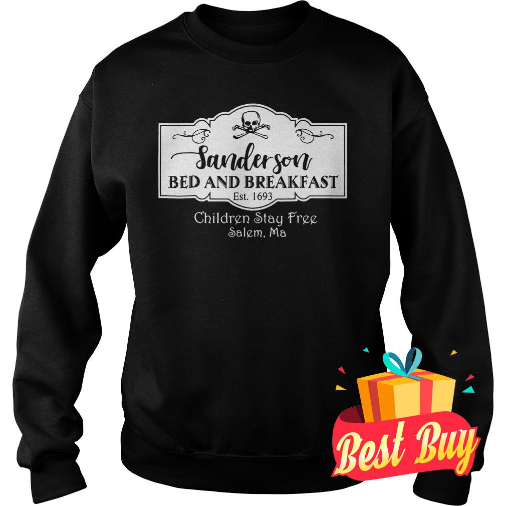 Best Price Halloween Sanderson Bed And Breakfast shirt Sweatshirt Unisex