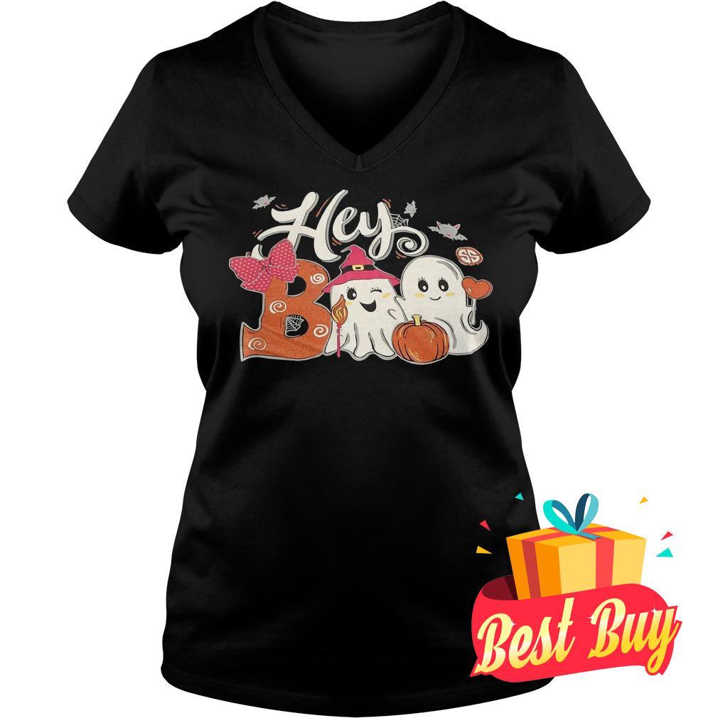 Best Price Hey Boo Girl shirt Ladies V-Neck