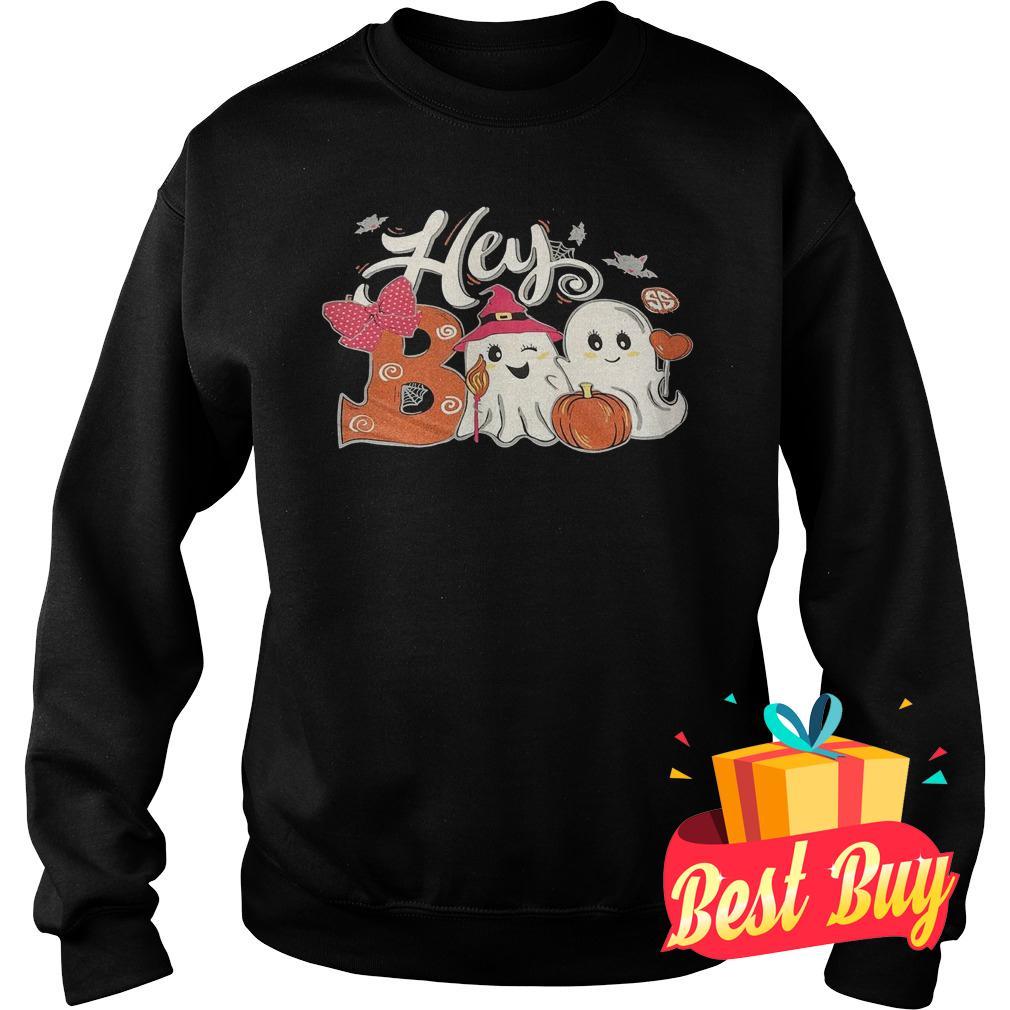 Best Price Hey Boo Girl shirt Sweatshirt Unisex