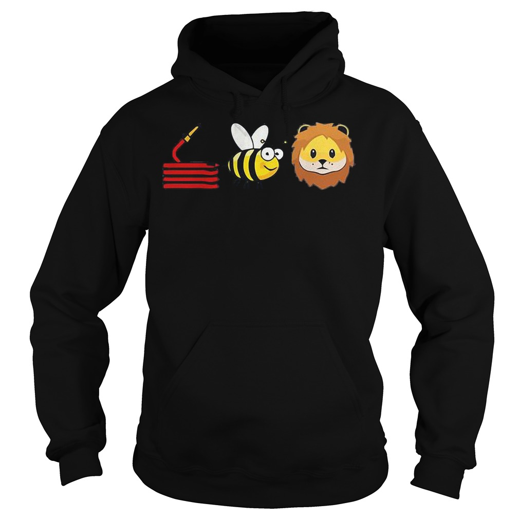 Best Price Hose Bee Lion shirt Hoodie