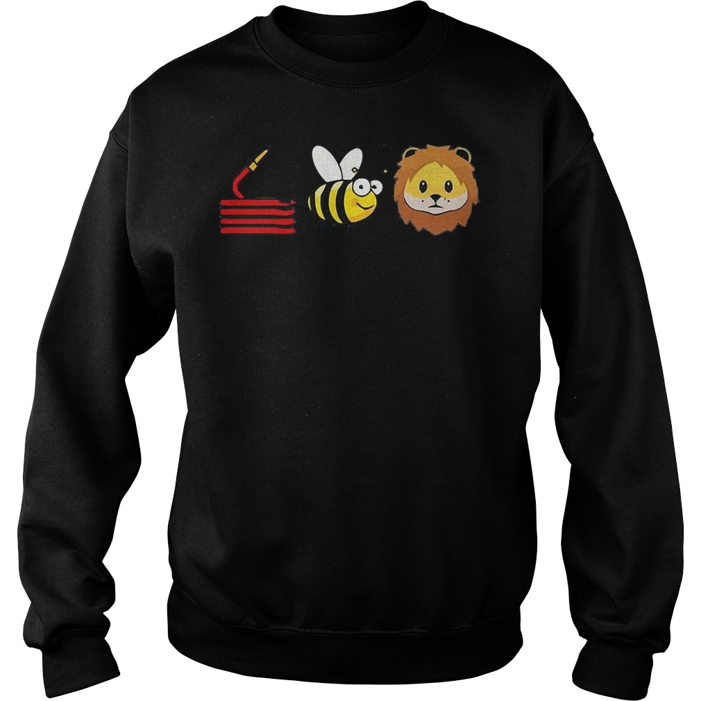 Best Price Hose Bee Lion shirt Sweatshirt Unisex