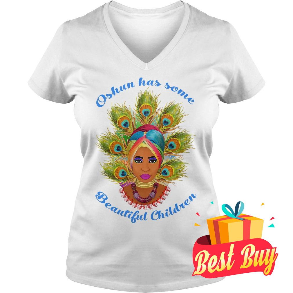 Best Price Oshun's has some beautiful children shirt Ladies V-Neck