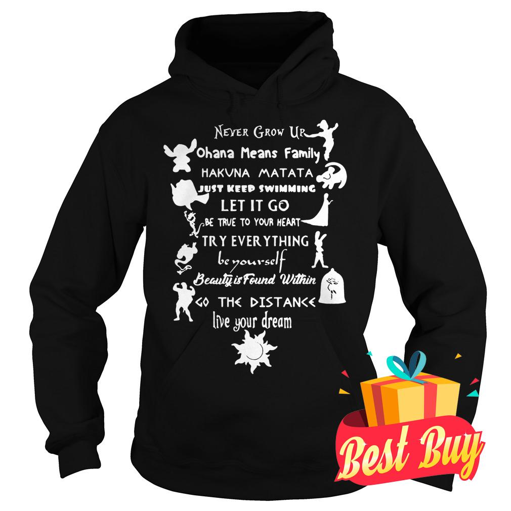 Official 11 lessons Disney shirt Hoodie