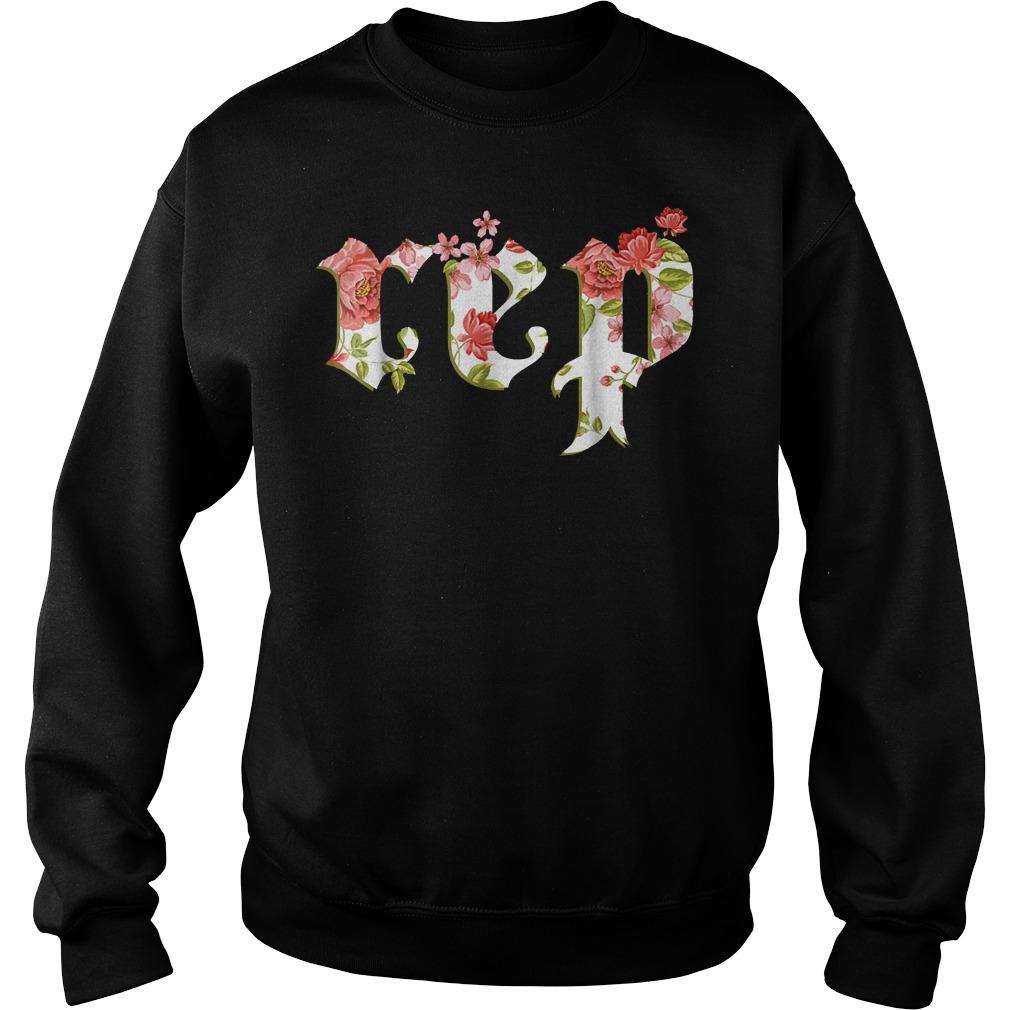 Official Floral Flowers Swift Rep Tour Novelty shirt Sweatshirt Unisex