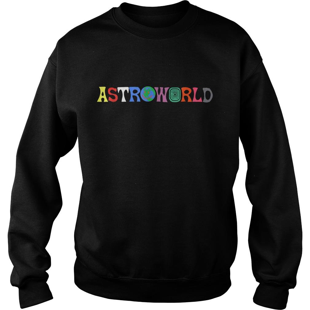 Official Travis Scott Astroworld Shirt Sweatshirt Unisex