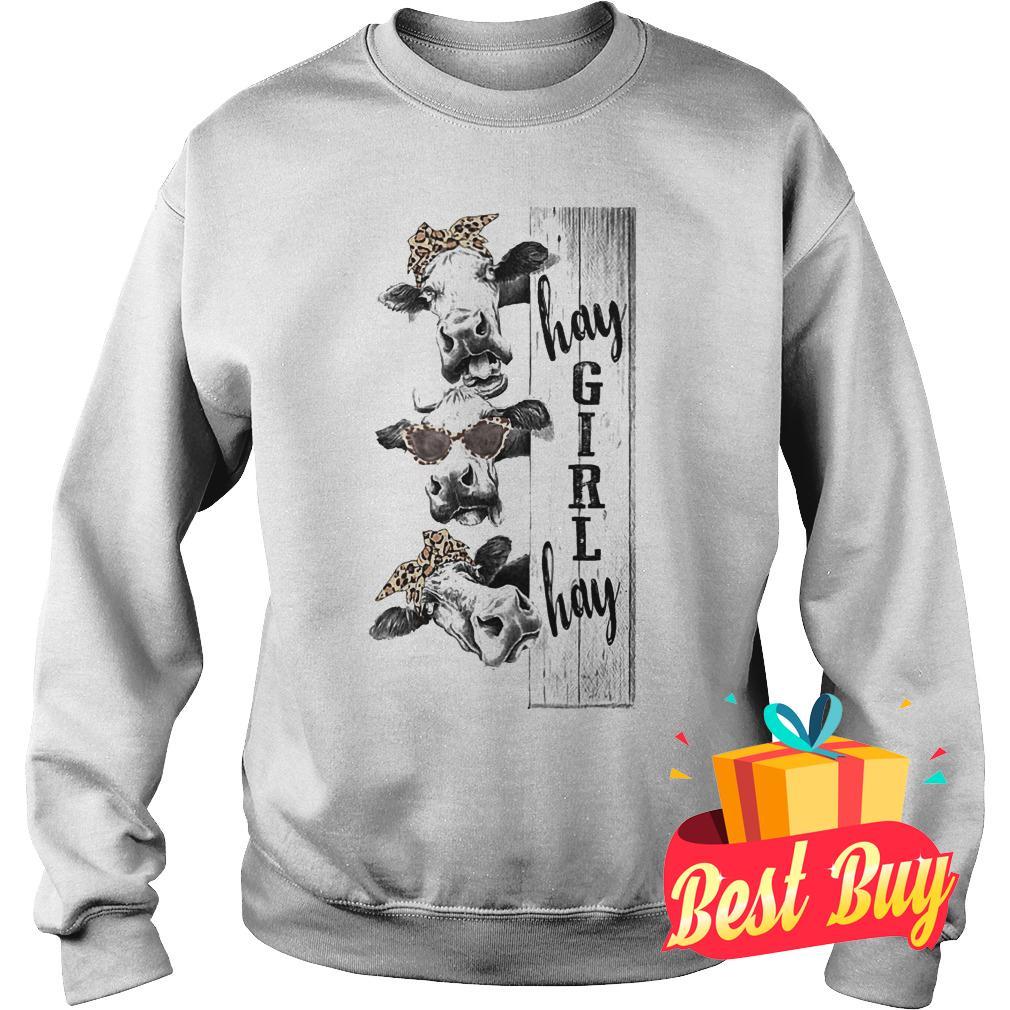 Premium Farmers life heifer hay girl hay Shirt Sweatshirt Unisex