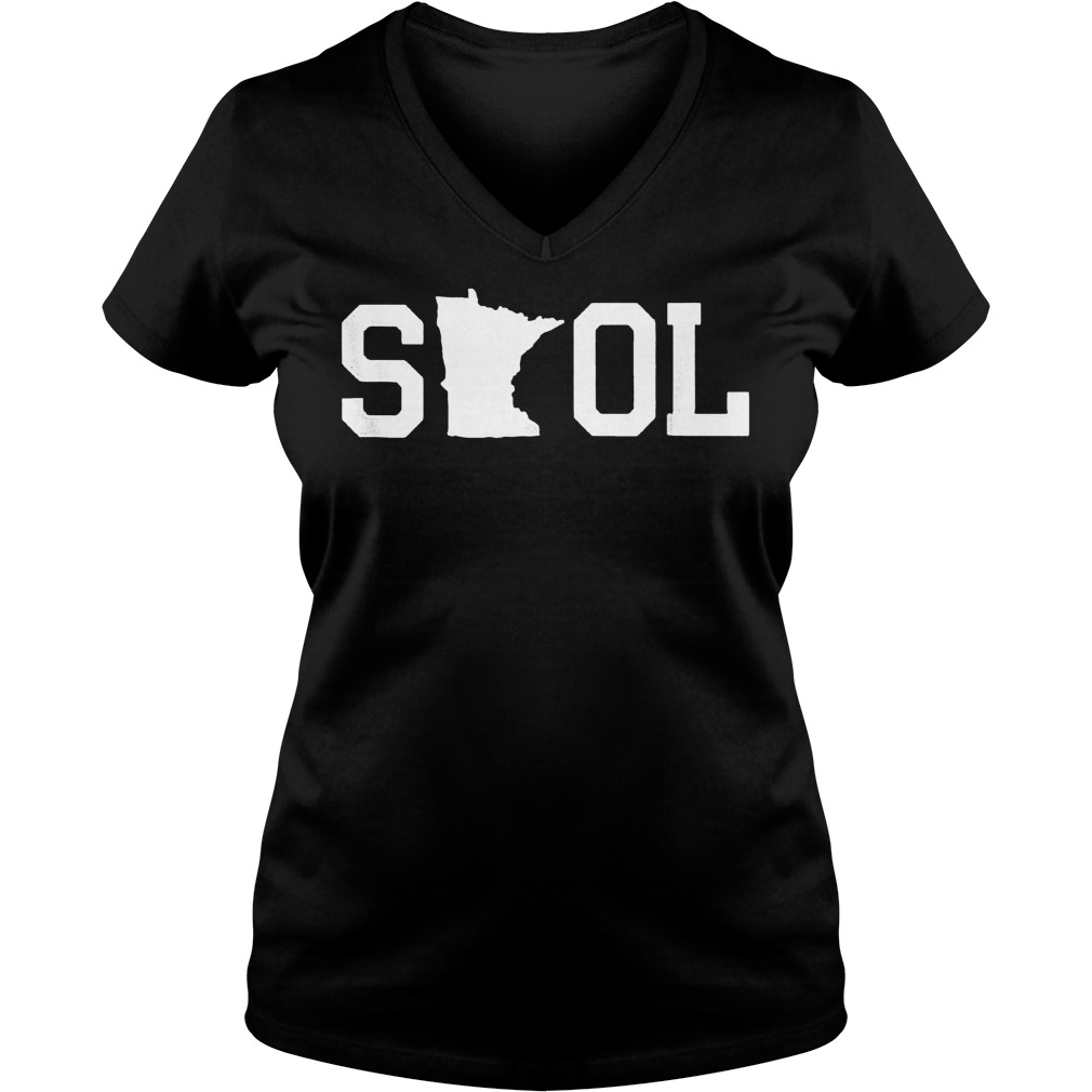 Premium Skol Tailgating Minnesota shirt Ladies V-Neck