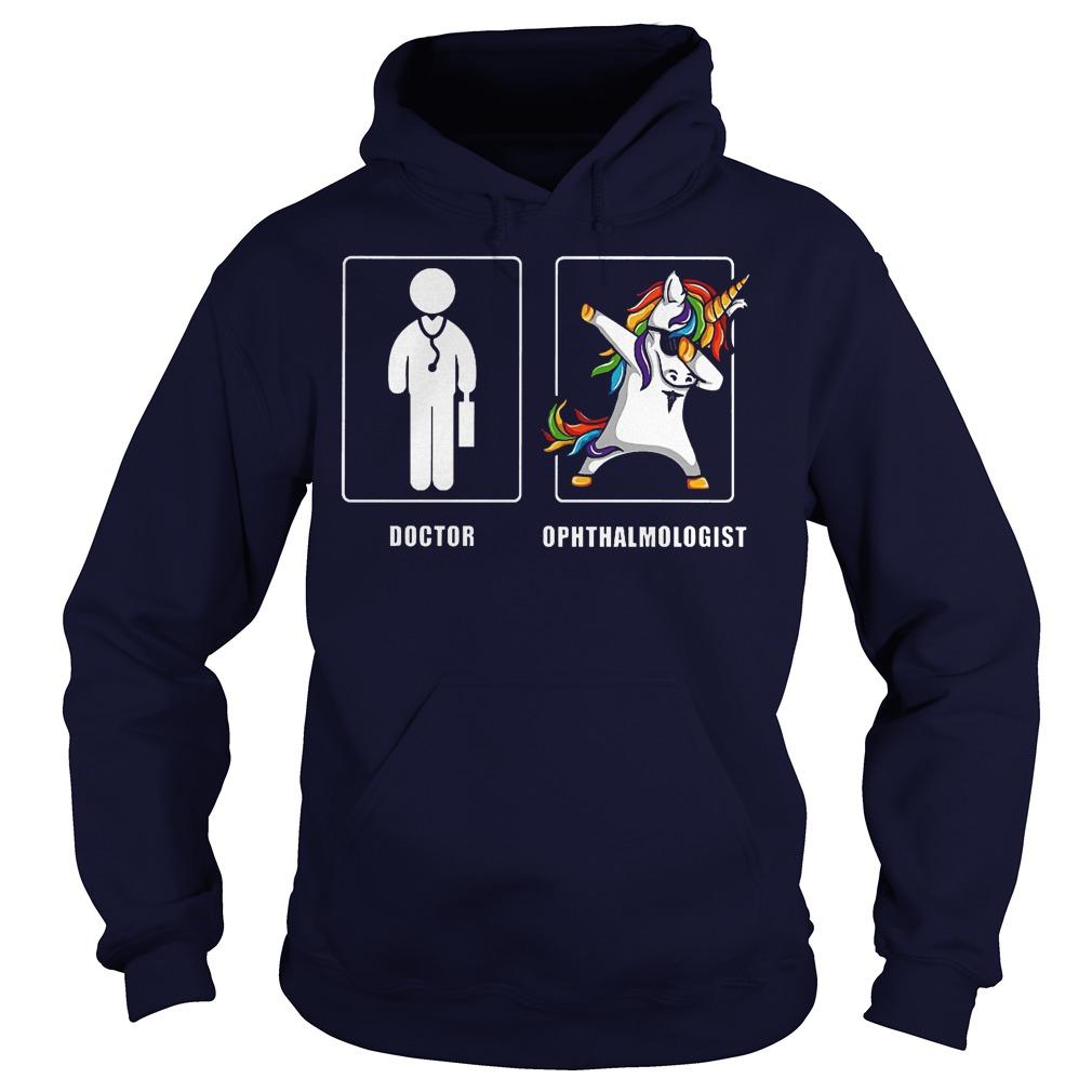 Top Shirt Doctor Ophthalmologist Shirt Hoodie