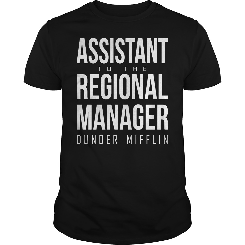 Assistant to the regional manager dunder mifflin Shirt