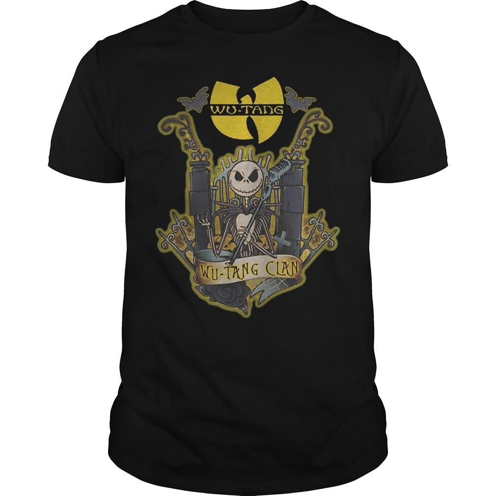 Jack Skellington Wu Tang Clan Shirt