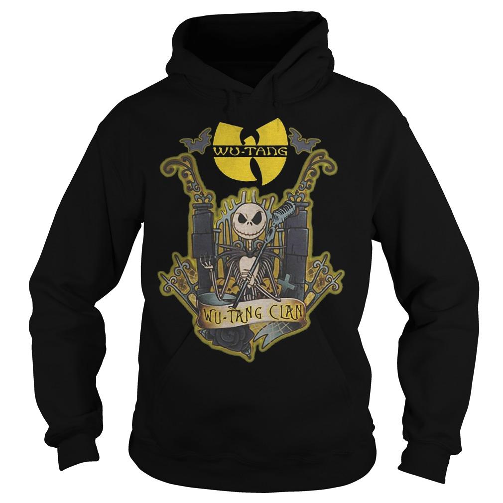 Jack Skellington Wu Tang Clan Shirt Hoodie