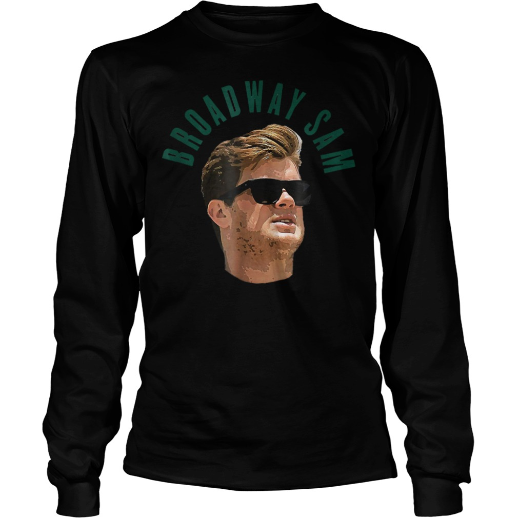 Official Broadway Sam Darnold Jets Namath Homage T-Shirt Longsleeve Tee Unisex