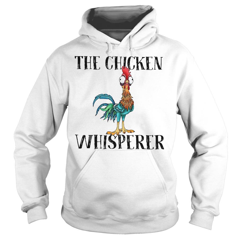Official Disney Moana The chicken whisperer shirt Hoodie
