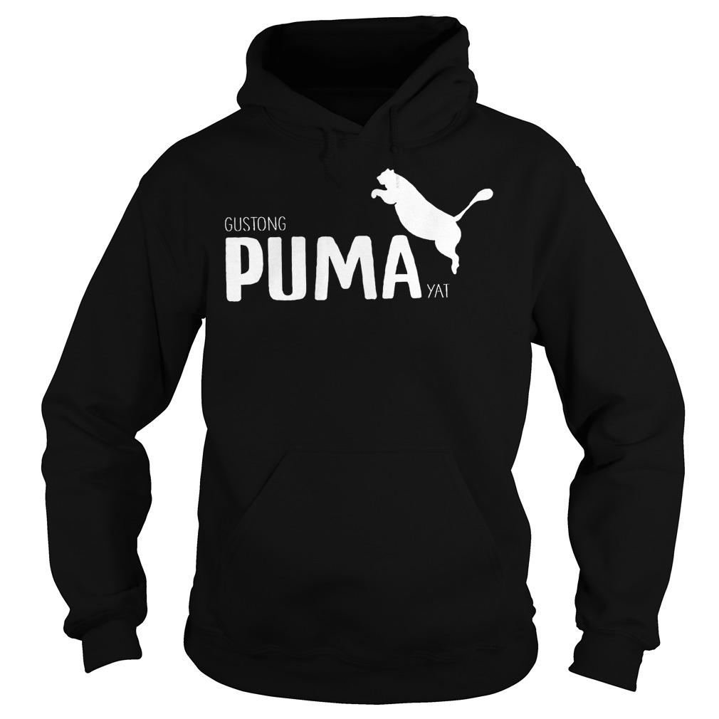 Official Gustong Puma Yat Linya T-Shirt Hoodie