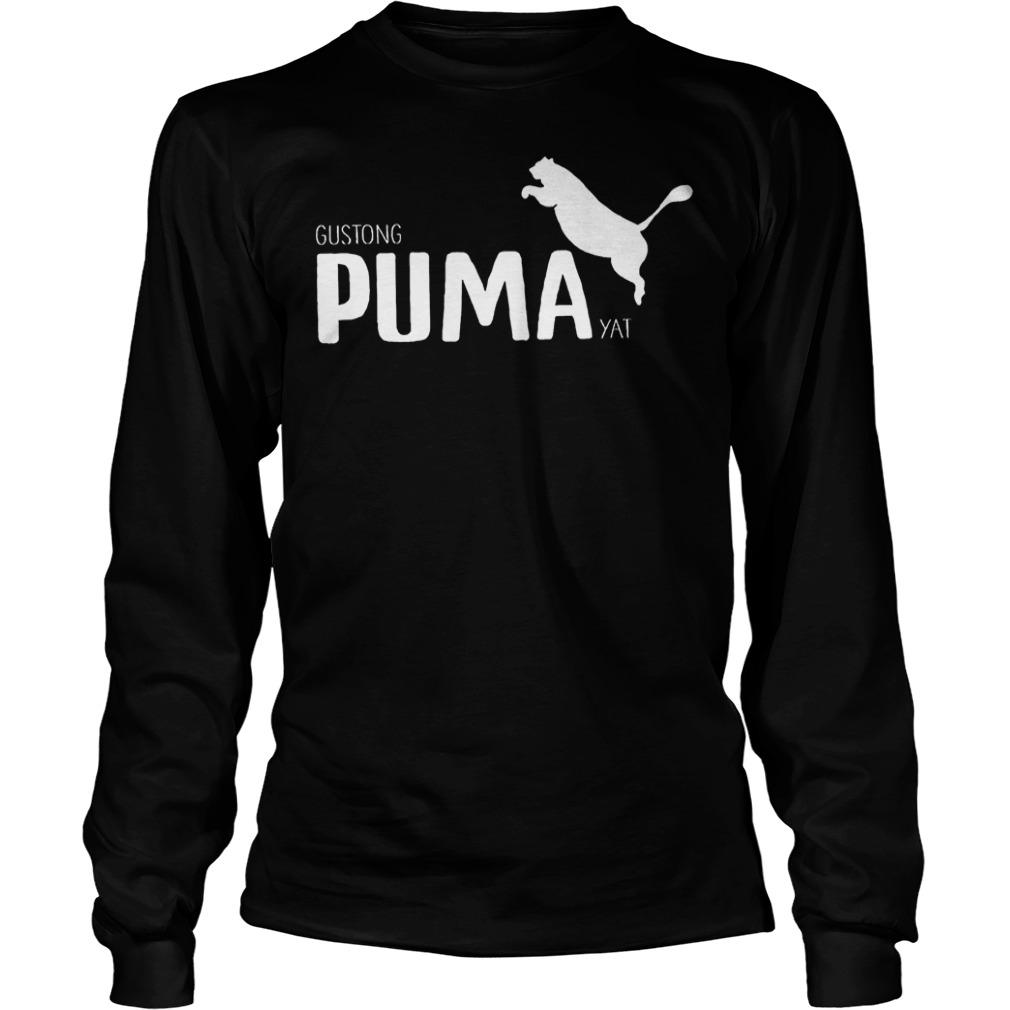 Official Gustong Puma Yat Linya T-Shirt Longsleeve Tee Unisex