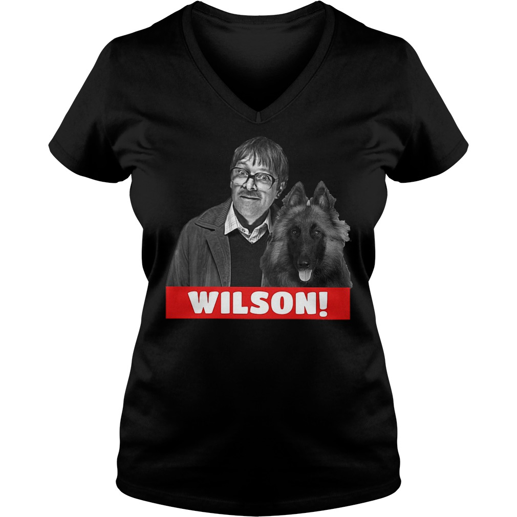 Official Jim and Wilson T-Shirt Ladies V-Neck
