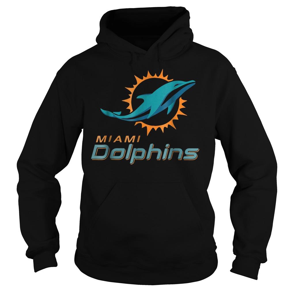 Retro Miami dolphin shirt Hoodie