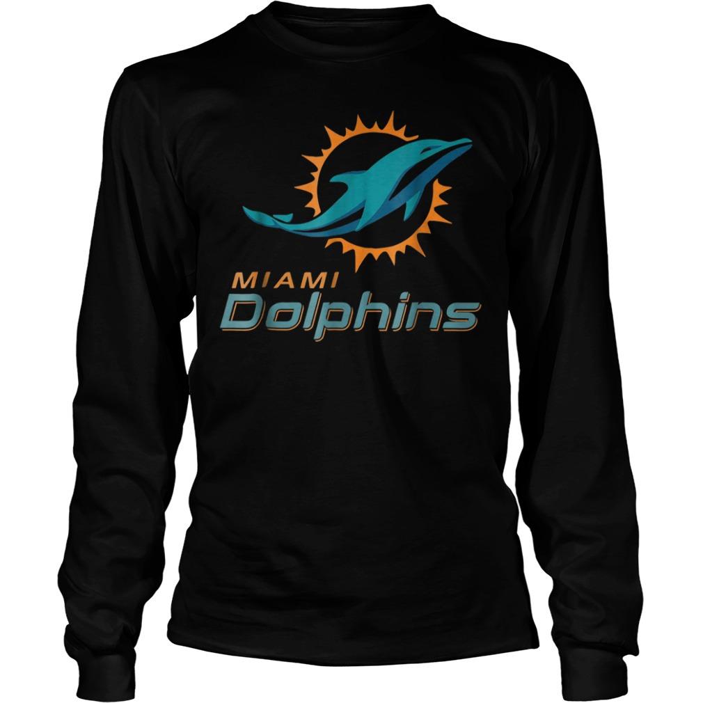 Retro Miami dolphin shirt Longsleeve Tee Unisex